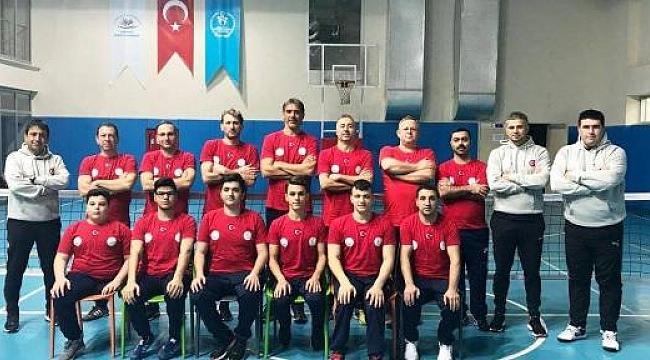 Paravoley Milli Takımı Kampı Konya'da devam ediyor