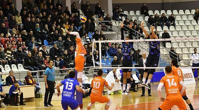 Arkas Spor, deplasmanda Tokat Belediye Plevne'yi yendi