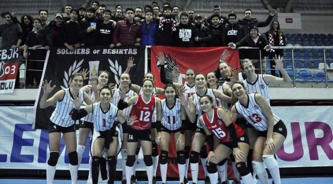 Beşiktaş, AXA Sigorta Kupa Voley'de finalde