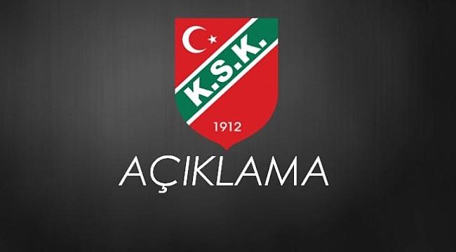 Karşıyaka'da 3 oyuncu kadro dışı