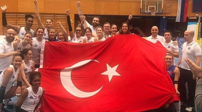 Aydın Büyükşehir Belediyespor, Kadınlar Challenge Cup'ta kupaya koşuyor
