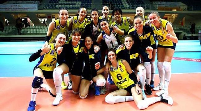 Fenerbahçe Opet, Aydın'ı 5. sette devirdi
