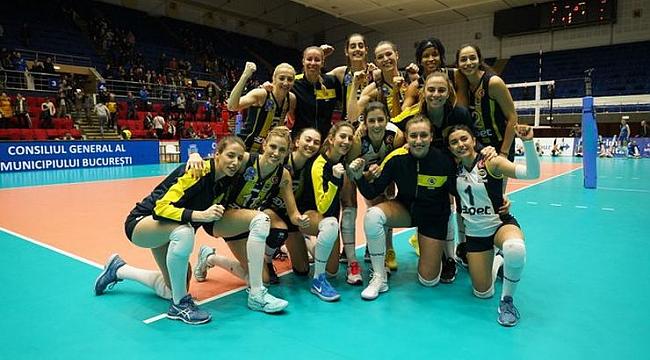 Fenerbahçe Opet, Scandicci Karşısında