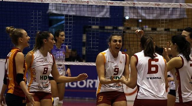 Galatasaray HD Sigorta, Aydın'dan mutlu dönüyor