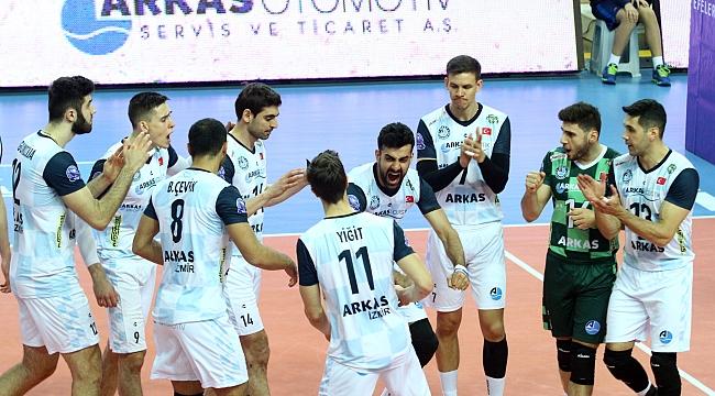 Arkas Spor Play-Off öncesi son maçına çıkıyor