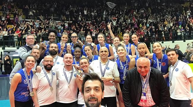 Aydın BBSK, Challenge Kupası'nı Gümüş Madalya İle Tamamladı