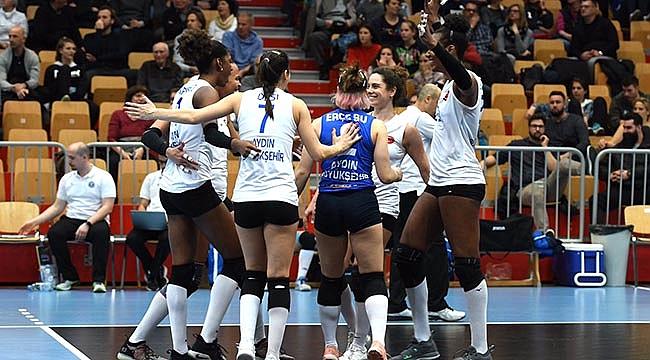 Aydın Büyükşehir Belediyespor finale yükseldi