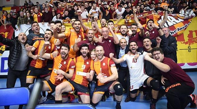 Galatasaray, Altın Setle CEV Cup'ta finalde
