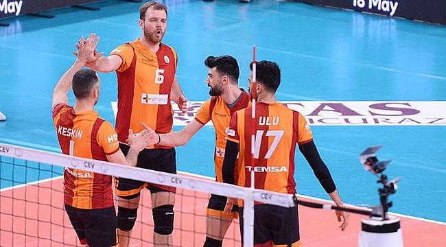 Galatasaraylı voleybolcular şampiyonluğa inanıyor