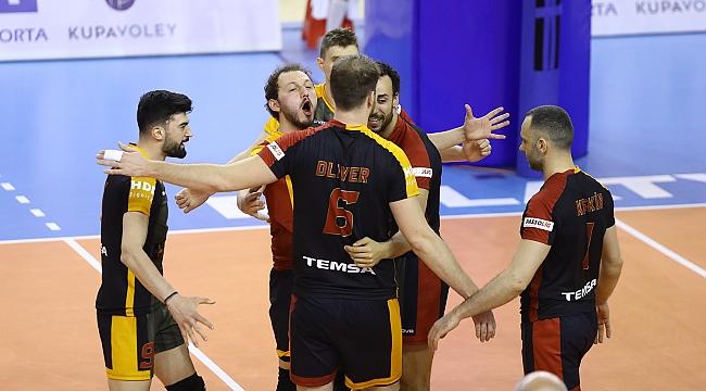 Axa Sigorta Kupa Voley'de İlk finalist Galatasaray