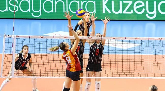 Play-off çeyrek finalinde derbinin galibi Galatasaray HDI Sigorta