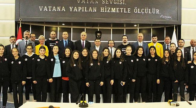 TVF ile Kepez Spor Kulübü Arasında Protokol İmzalandı