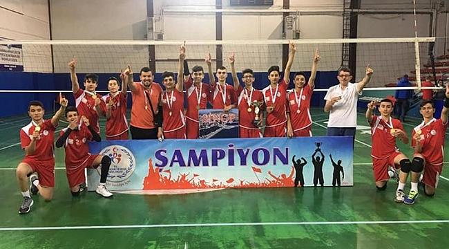 Anadolu Yıldızlar Ligi Şampiyonu Kayseri