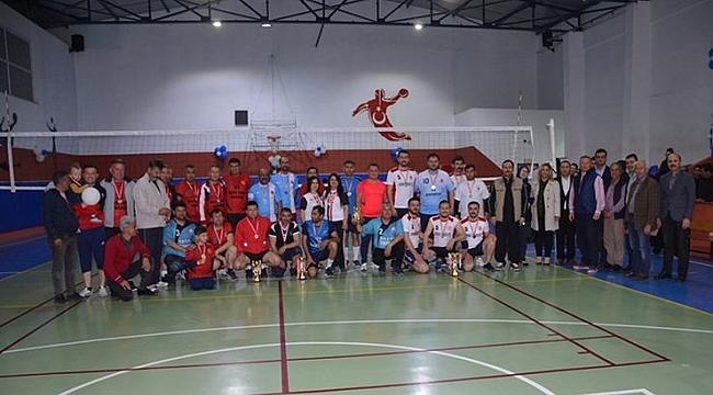 Bozyazı'da voleybol heyecanı