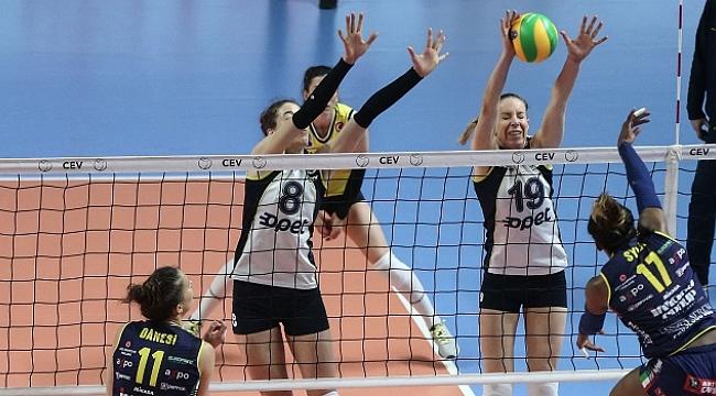 Fenerbahçe Opet, CEV Şampiyonlar Ligi'ne veda etti