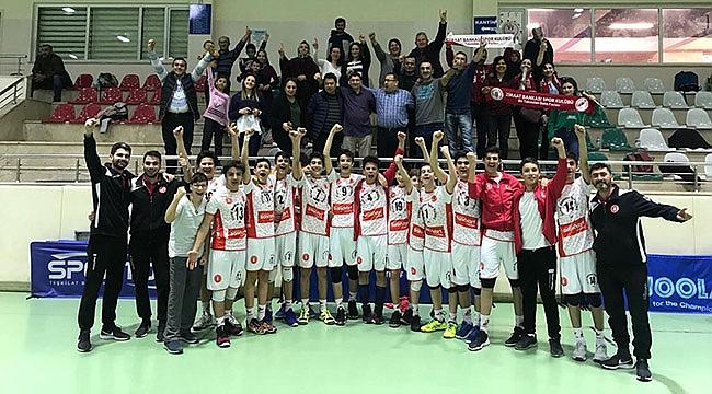 Ziraat Midiler namağlup Ankara Şampiyonu