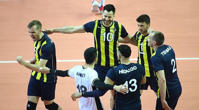 Efeler Ligi Şampiyonu Fenerbahçe