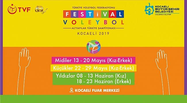 Festival Voleybol Seminer Takvimi Belli Oldu