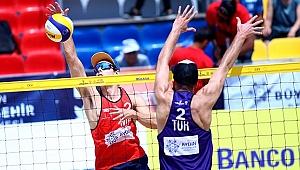 FIVB Plaj Voleybolu Dünya Turu Aydın Etabı'nda 3. Gün Sona Erdi