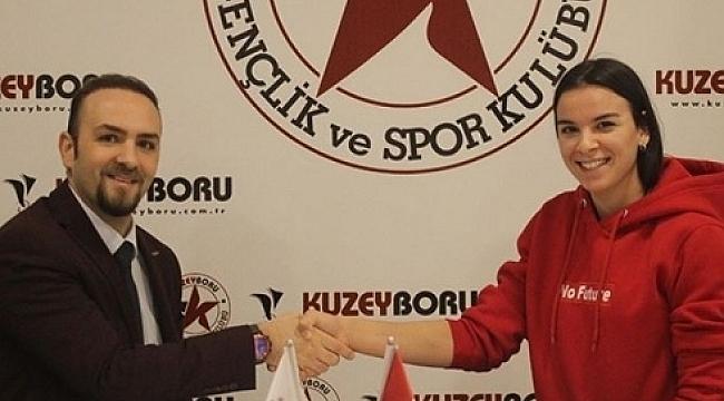 Hazal Şener, Kuzeyboru Spor ile devam dedi