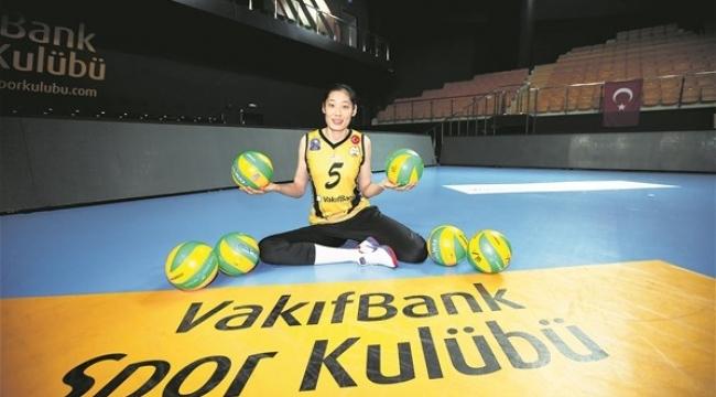 Zhu Ting:Türkiye'ye dönersem Vakıfbank'ta oynamak isterim
