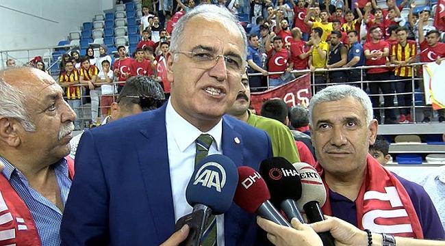 Akif Üstündağ: Finale kalıp şampiyon olmak istiyoruz
