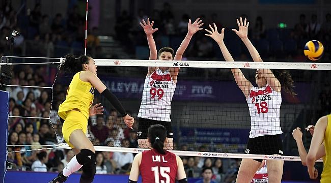 Milli Takımımız, Çin'e 3-0 Mağlup Oldu