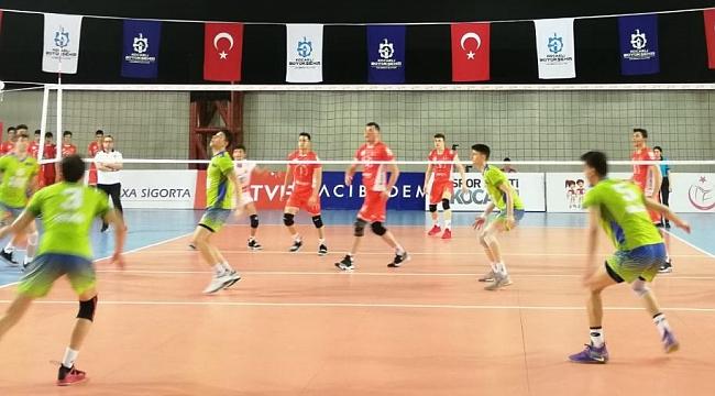 Yıldız Erkekler Türkiye Şampiyonası'nda Finalistler Belli Oldu