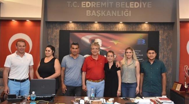 Edremit Belediyesi Altınolukspor TVF 1. Lig'de