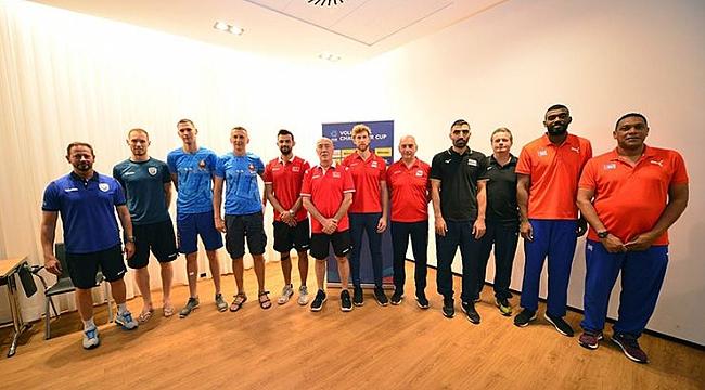 FIVB Challenger Kupası'nın Basın Toplantısı Yapıldı