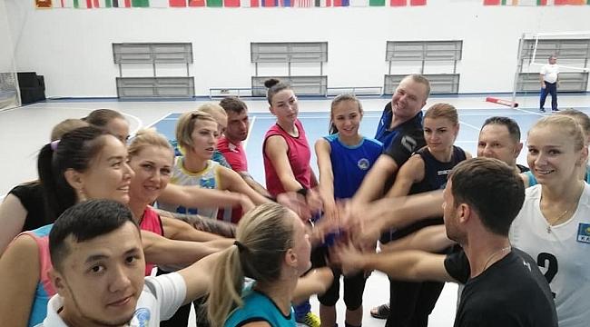 Nejat Sancak Kazakistan'da çalışmalarına başladı