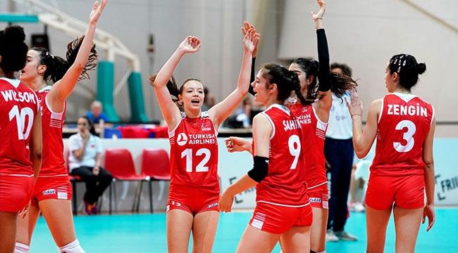 U16 Küçük Kız Milli Takımımız, Avrupa Şampiyonası'na Galibiyetle Başladı