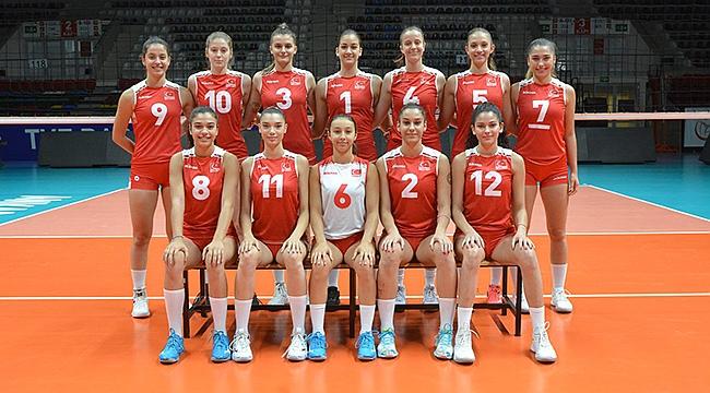 U18 Genç Kız Millilerimiz, Avrupa Gençlik Olimpiyatları Festivali'nde
