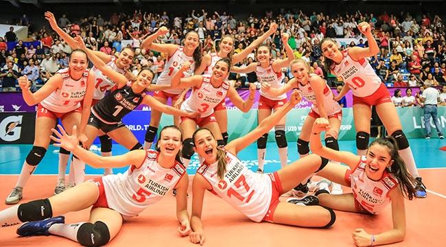 U20 Genç Kız Milli Takımımız, Dünya Şampiyonası'nda 2. Turda