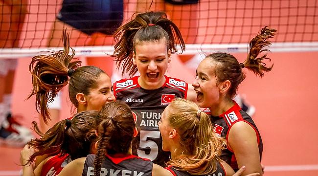 U20 Genç Kız Millilerimiz, Dünya Şampiyonası'nda Son 4'te