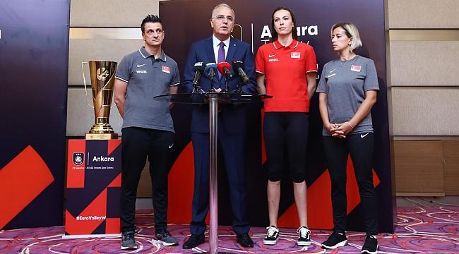 Avrupa Voleybol Şampiyonası Medya Günü Yapıldı