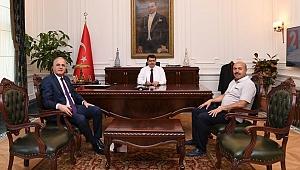 Başkan Üstündağ'dan, Ankara Valisi Vasip Şahin'e Ziyaret