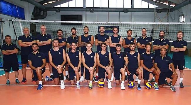 Fenerbahçe Erkek Voleybol Takımı startı verdi