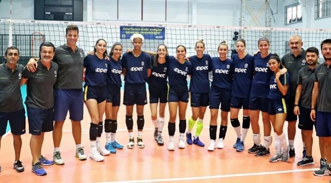 Fenerbahçe Opet, yeni sezon çalışmalarına başladı.