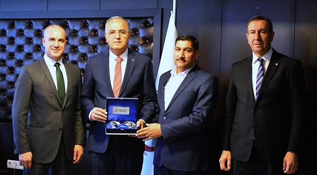 Haliliye Belediyespor Başkanı Mehmet Tatlı, Üstündağ'ı Ziyaret Etti