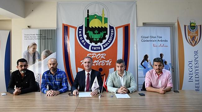 İnegöl Belediyespor'a sağlık sponsoru