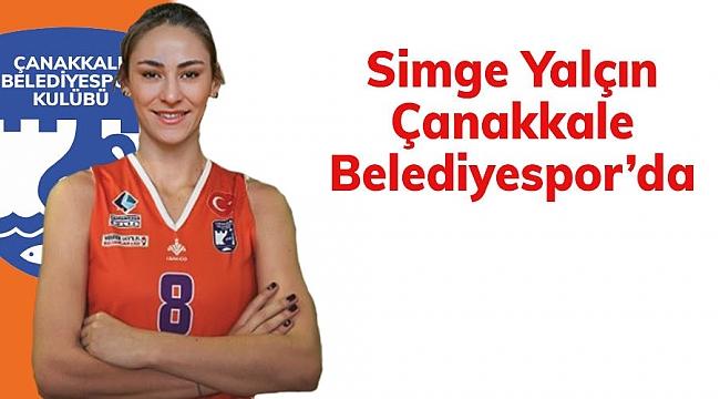 Simge Yalçın Çanakkale Belediyespor'da