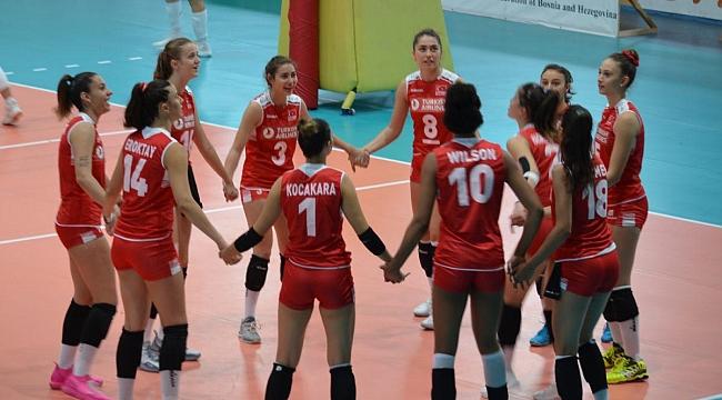 U17 Genç Kız Millilerimiz, Yarı Finalde