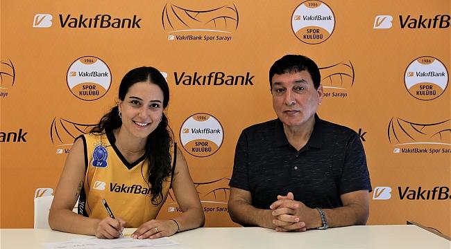 VakıfBank, Pınar Eren Vatansever'i resmen açıkladı