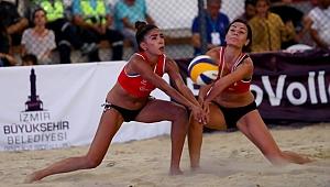 2019 Balkan Plaj Voleybolu Şampiyonası'nda 2. Gün Sona Erdi