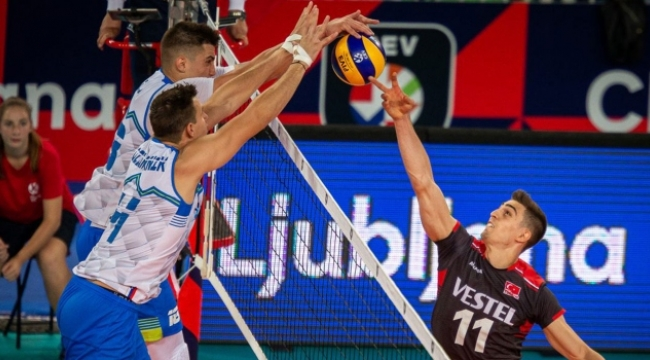 Avrupa Voleybol Şampiyonası'nda 4. gün