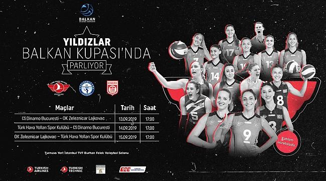 Balkan Kupası Heyecanı İstanbul'da!