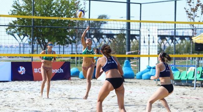 Balkan Plaj Voleybolu Şampiyonası Başladı