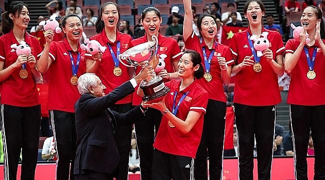 Çin Dünya Şampiyonu!