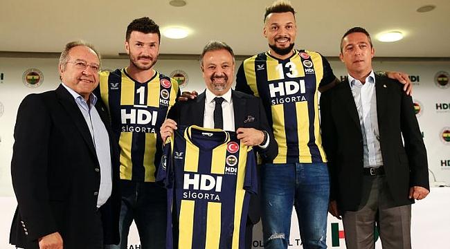 Fenerbahçe'nin Erkek Voleybola Yeni Sponsoru HDI Sigorta